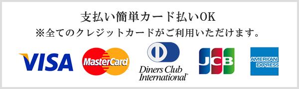 支払い簡単カード払いOK